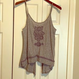 Backless tank by Gentle Fawn